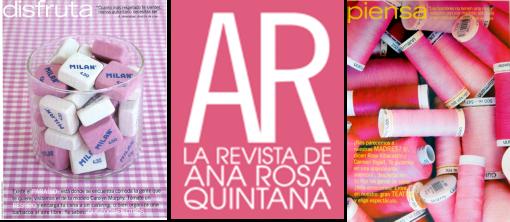 Revista AR. Portadillas y seccion Deco www.palomapacheco.com Estilista Deco